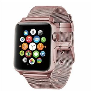 Apple Watch Band Replacement Rose Pink NWT 44-42